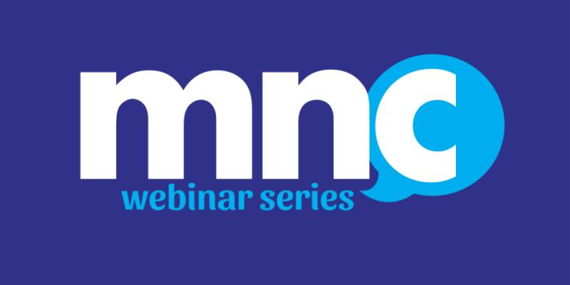 MNC Webinar series logo