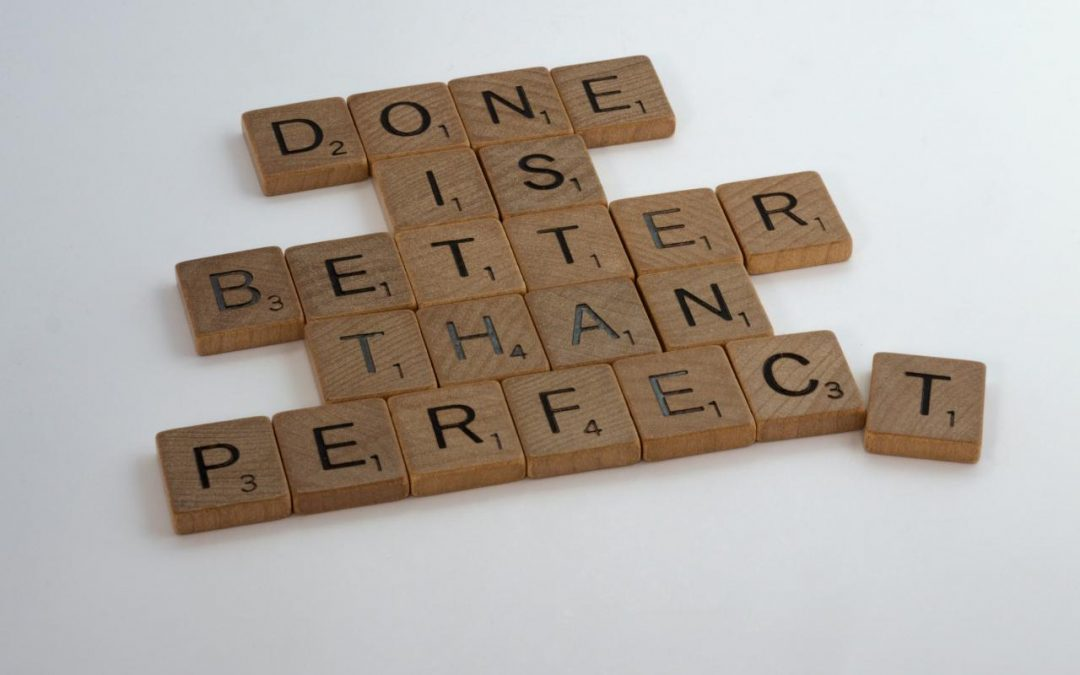 My Greatest Lesson: Be prepared to take imperfect action